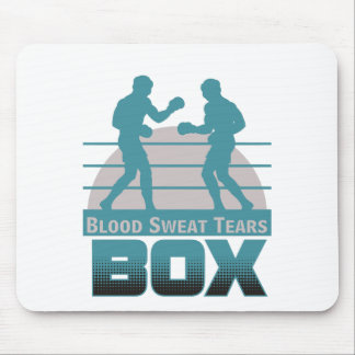 boxers sparring mouse pad
