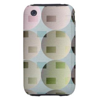 Boxes and Balls iPhone 3 Tough Case