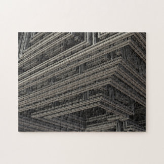 Boxes and Ridges Puzzle