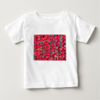 Boxes filled with red strawberries baby T-Shirt