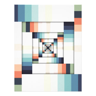 Boxes of Colors Letterhead