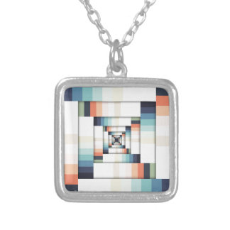 Boxes of Colors Silver Plated Necklace