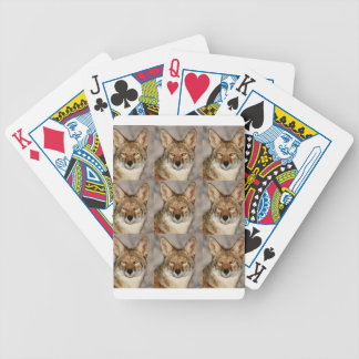boxes of coyotes bicycle playing cards