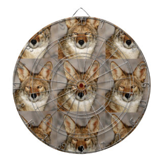 boxes of coyotes dartboard