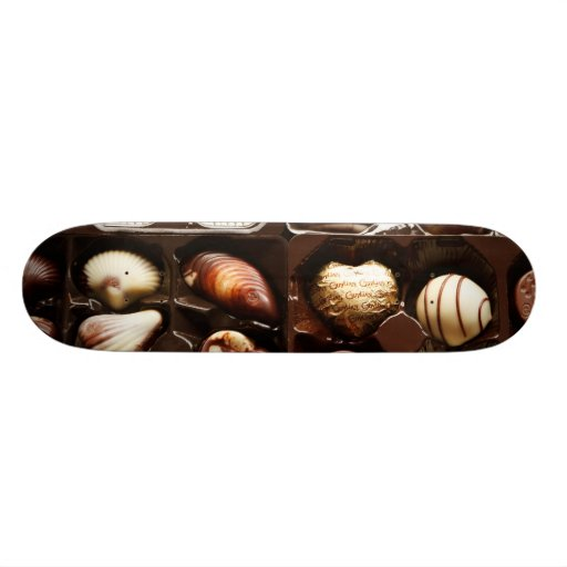 Boxes of Fancy Chocolates Skateboards