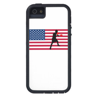 Boxing American Flag iPhone 5 Cover