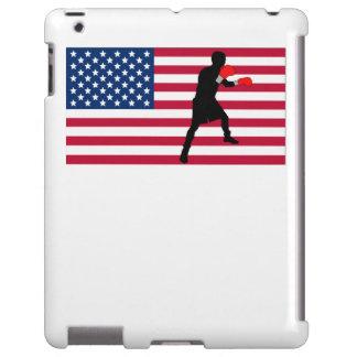 Boxing American Flag