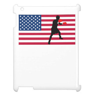 Boxing American Flag Cover For The iPad 2 3 4