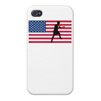 Boxing American Flag Case For iPhone 4
