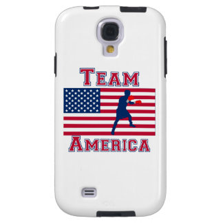 Boxing American Flag Team America Galaxy S4 Case