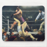 Boxing art mouse pad
