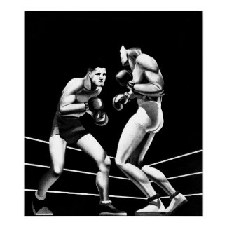 Boxing - Art On Canvas Print