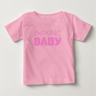 Boxing Baby Girl Wear Baby T-Shirt