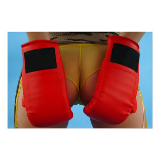 Boxing bottom poster