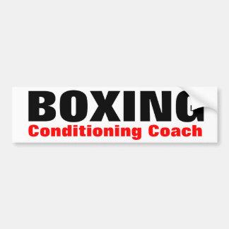 Boxing Bumper Sticker Car Bumper Sticker