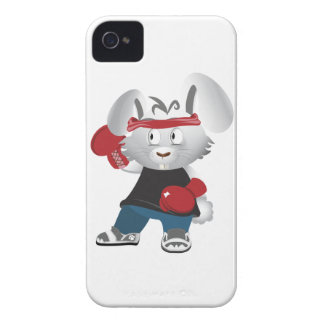Boxing Bunny iPhone 4 Case-Mate Cases