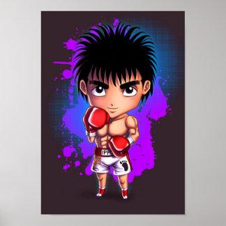 Boxing Chibi Poster