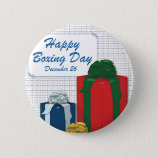 Boxing Day 2 Inch Round Button