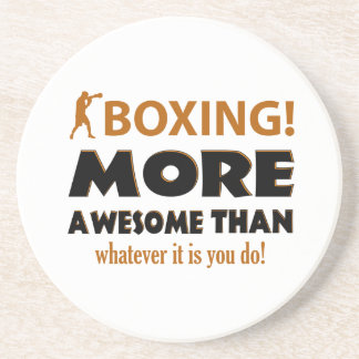 BOXING DESIGN COASTER