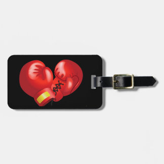 Boxing Design Luggage Tags