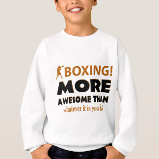 BOXING DESIGN SWEATSHIRT