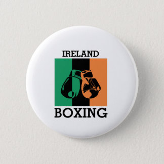 Boxing Fans Gift For Boxing Irish Mma Boxing 2 Inch Round Button