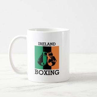 Boxing Fans Gift For Boxing Irish Mma Boxing Coffee Mug