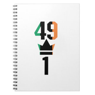 Boxing Fans Gift For Boxing Irish Mma Boxing Funny Spiral Notebook