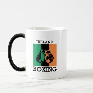 Boxing Fans Gift For Boxing Irish Mma Boxing Magic Mug