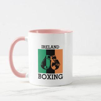 Boxing Fans Gift For Boxing Irish Mma Boxing Mug