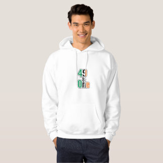 Boxing Fans Irish Forty-Nine And One (49 And 1) Hoodie