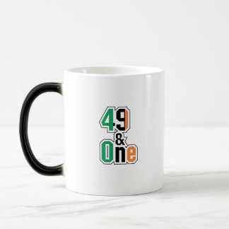 Boxing Fans Irish Forty-Nine And One (49 And 1) Magic Mug