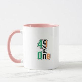 Boxing Fans Irish Forty-Nine And One (49 And 1) Mug