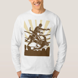 Boxing Fight Mens Long Sleeve T-Shirt