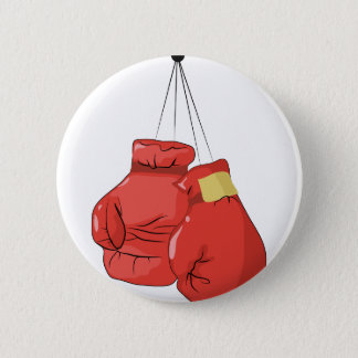 Boxing Gloves 2 Inch Round Button