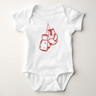 Boxing Gloves Baby Bodysuit