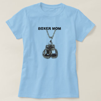 boxing gloves, BOXER MOM T-Shirt