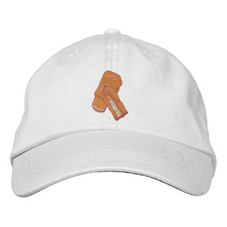 Boxing Gloves Embroidered Hat