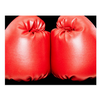 Boxing Gloves Postcard