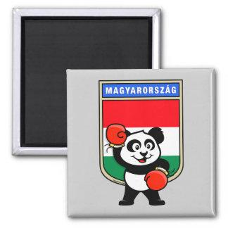 Boxing Hungary Panda Magnet