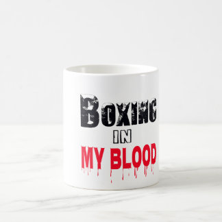 Boxing In My Blood Mugs