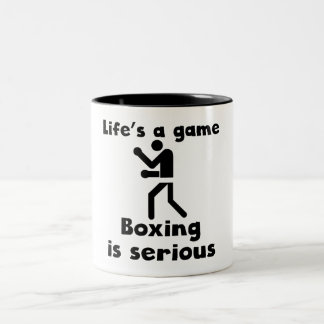 Boxing Is Serious Coffee Mug