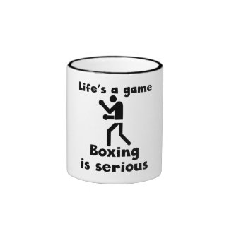 Boxing Is Serious Mug