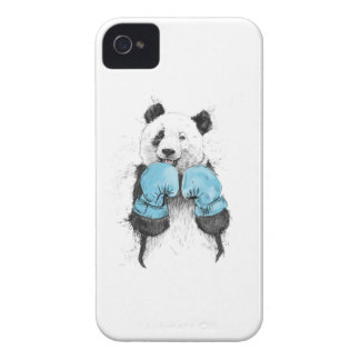 boxing panda Case-Mate iPhone 4 cases