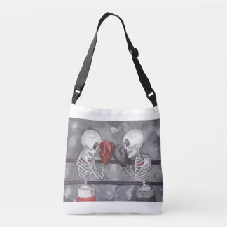 Boxing Skeleton Cross Over Bag
