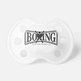 Boxing-style Baby Pacifier
