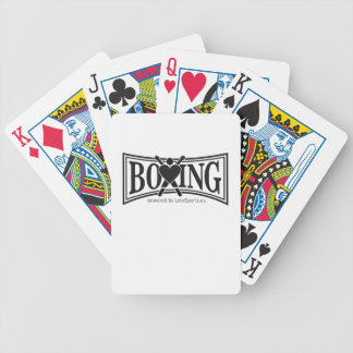 Boxing-style Bicycle Playing Cards