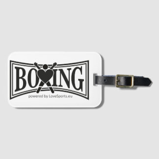Boxing-style Luggage Tag