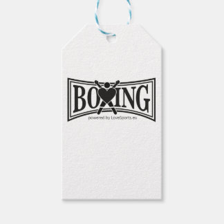 Boxing-style Pack Of Gift Tags
