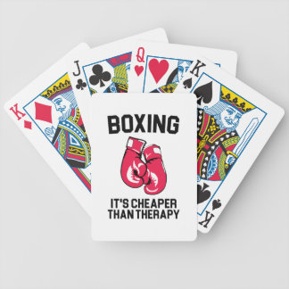 Boxing Therapy Bicycle Playing Cards